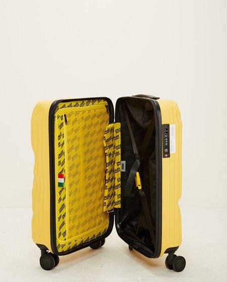 CRASH BAGGAGE STRIPE CABIN Luggage - YELLOW