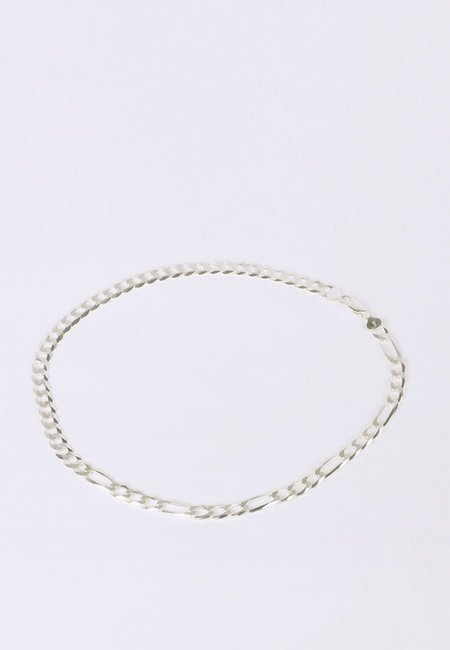 Newend Half Half Necklace - Silver