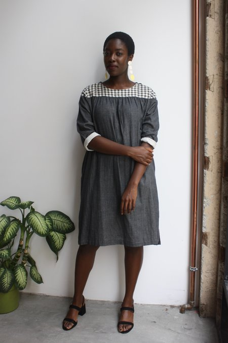 wrk-shp Arne Yoke Dress