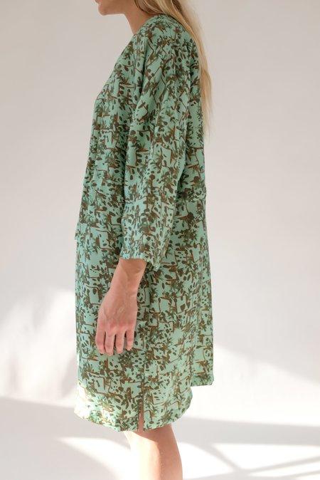 Beklina Hoda Beta Silk Dress - Sprezzatura Aqua
