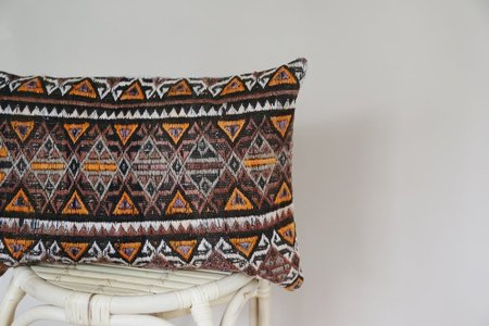 Byron & Blue Thelma Turkish Kilim Rug Pillow