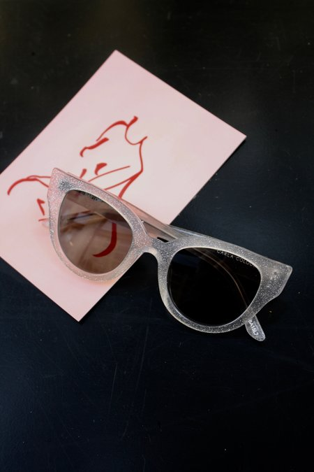 Carla Colour Barton Sunglasses - Diamond/Mist