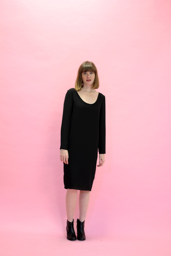 Valerie Dumaine Aberdeen Dress (Black)