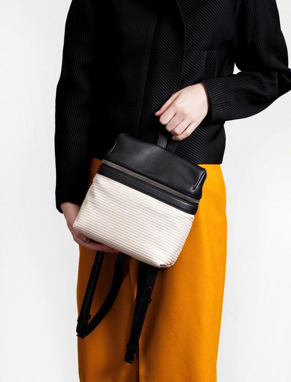 Kara Small Backpack Cream