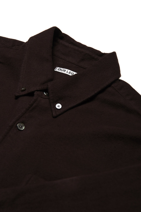 Our Legacy 1950 Ultimate Flannel Shirt  - Plum