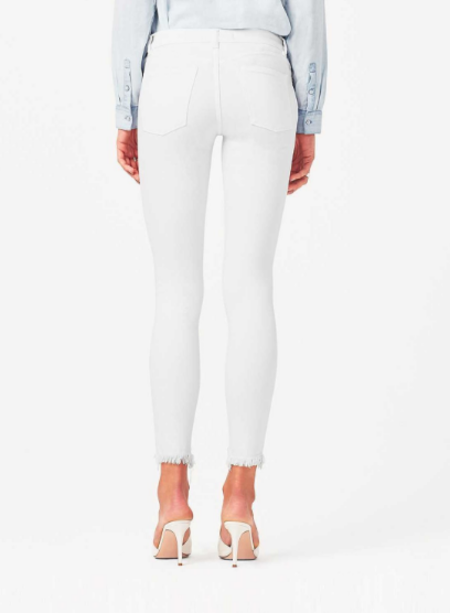 DL1961 Margaux Jeans - White