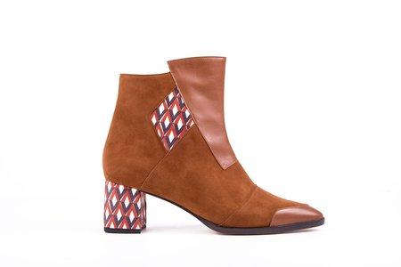 Jessica Bédard Shoes Dakota Boots - Brown