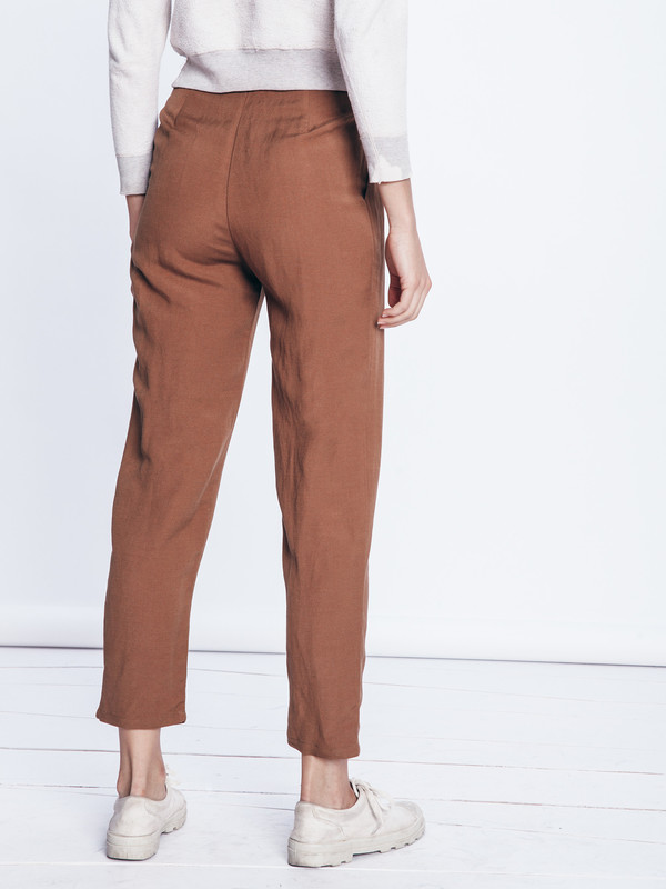 First Rite Hi Rise Ankle Trouser