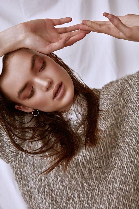 Line Knitwear Daphne Line Sweater - Mineral