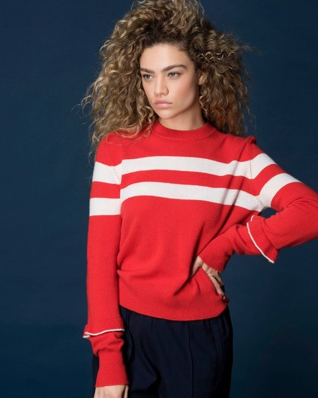 27 Miles Levitt Sweater - Poppy