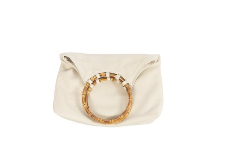 Clyde Paradis Leather Bag - Bone