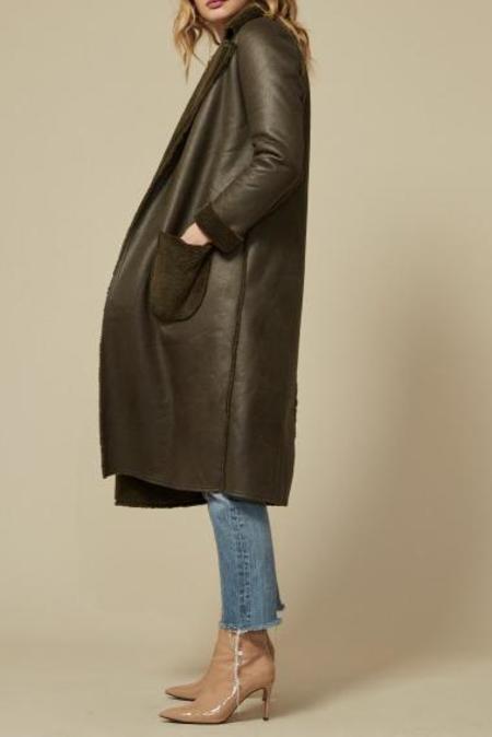 Goldie London Jonah Coat - Khaki