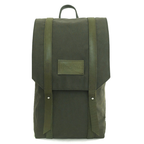 Woolfell - Warrior Backpack in Khaki