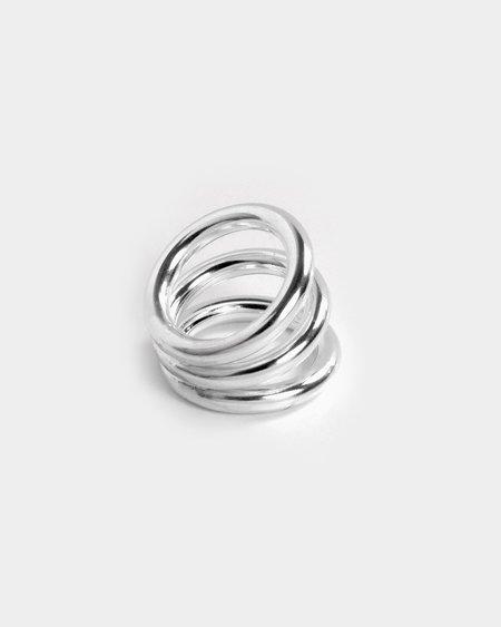 Annika Inez Thrice Around Ring - Sterling Silver