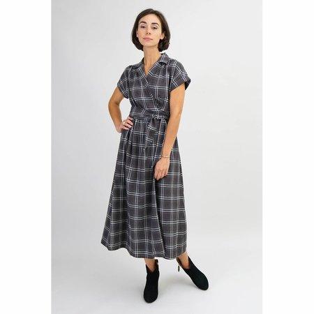 Amy Kuschel Roman Holiday Dress - Charcoal