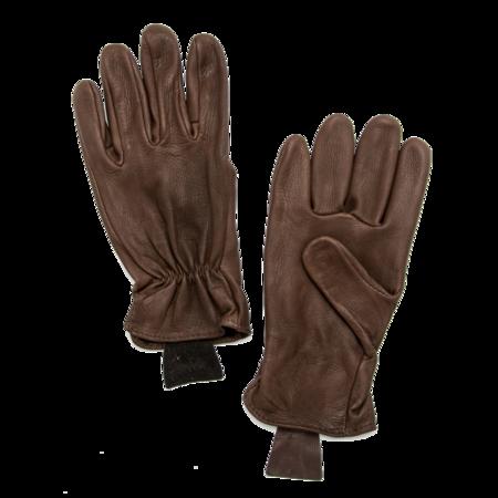 Unisex Geier Glove Medium Weight Deerskin Glove - Brown