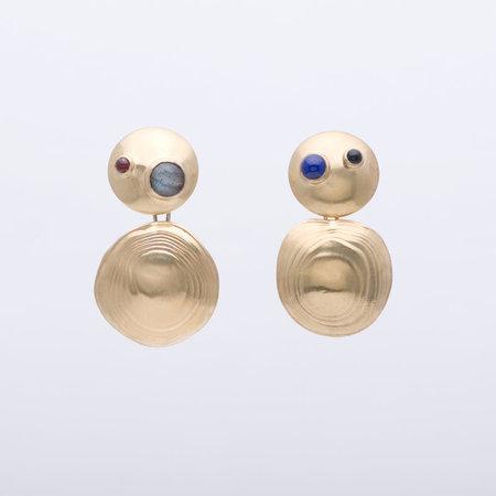 Leigh Miller Turtle Earrings - Gold
