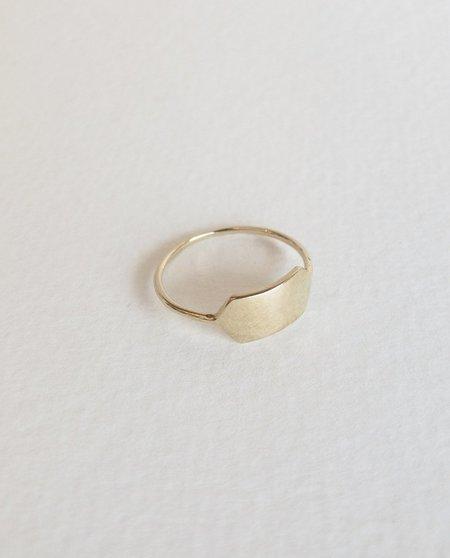 Form Fine Goods signet ring - 14k Gold