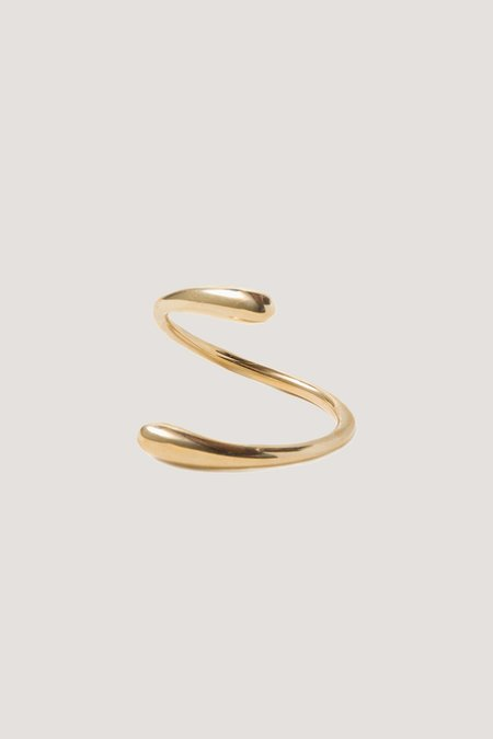 SOKO Twisted Dash Cuff - Brass