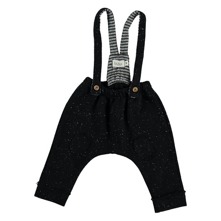 KIDS Buho Hamlet Melange Fleece Romper - Antracite