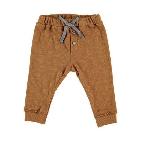 KIDS Buho Sol Cotton Legging - Biscuit