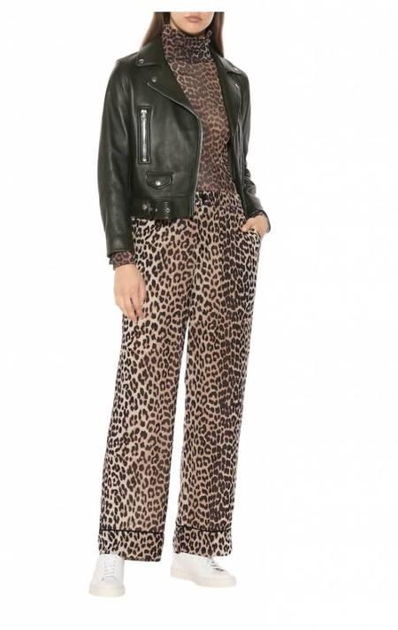 2369b0ab Ganni Mullin Georgette Pants - Leopard Ganni Mullin Georgette Pants -  Leopard