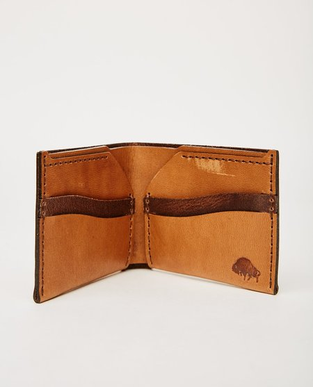 EZRA ARTHUR NO. 6 WALLET - WHISKEY