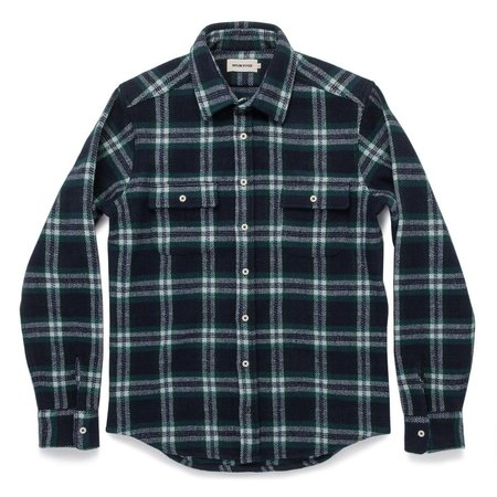 Taylor Stitch The Leeward Shirt - Navy Tartan