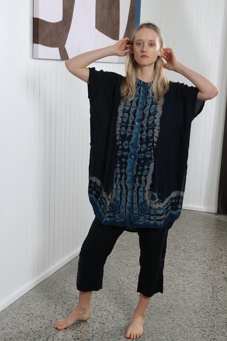 Raquel Allegra Caftan Tunic - Peacock
