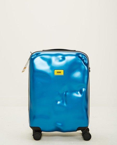 UNISEX CRASH BAGGAGE ICON CABIN 4 WHEELS - METAL BLUE