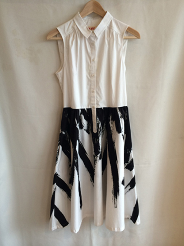 YMC brush dress