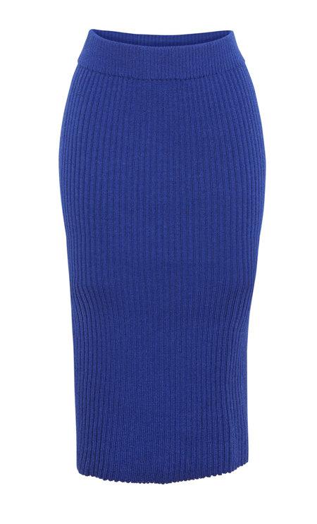 Eleven Six Eva Sweater Skirt - Cobalt Blue