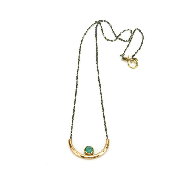Claire Green Jewelry Basin Necklace