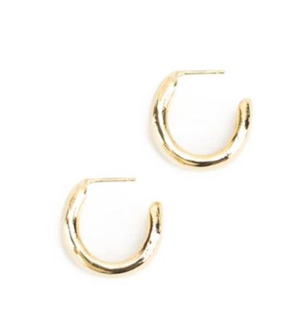 Baleen Cinch Hoops - Gold