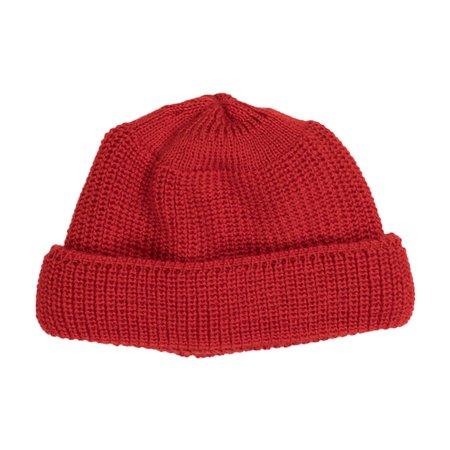 Heimat Deck Hat - Safety Red