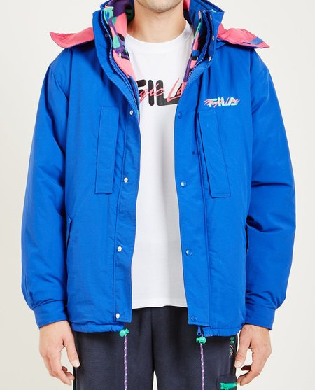 FILA MAGIC LINE BIANCO PERFORMANCE JACKET - BLUE