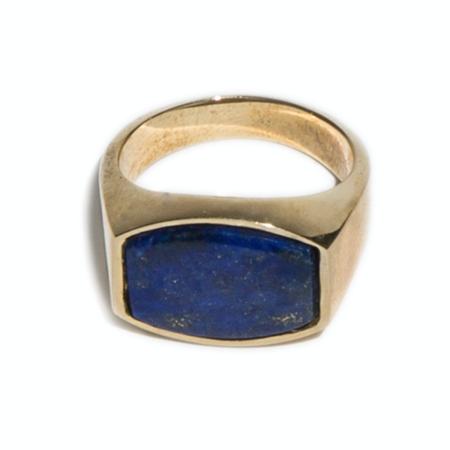 Unisex Tarin Thomas Archie Lapis Ring