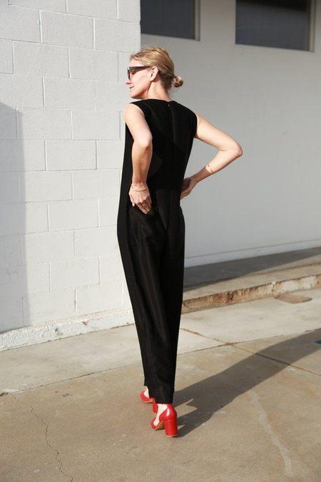 Sara Lanzi Overalls - Black