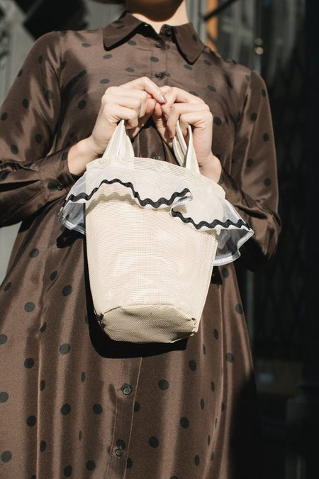 Lotfi Carmen Bucket Bag - Almendra