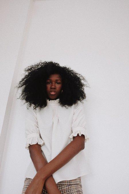 Selva Negra Sabrina Blouse - Snow Modal