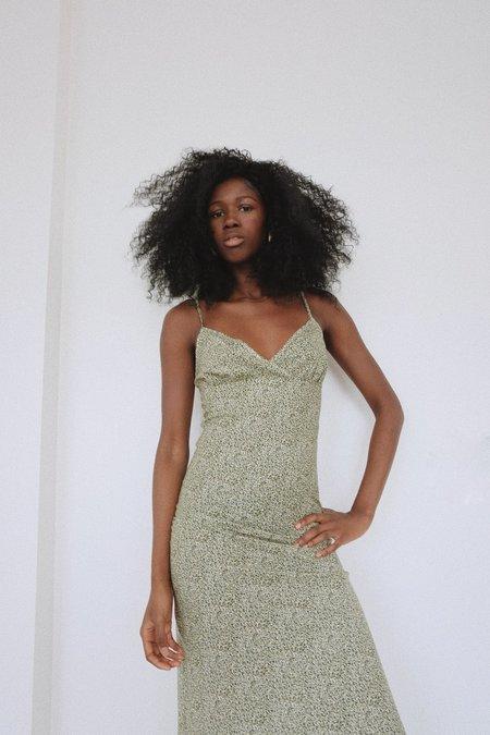 Selva Negra Lucia Slip Dress - Verde Lawn