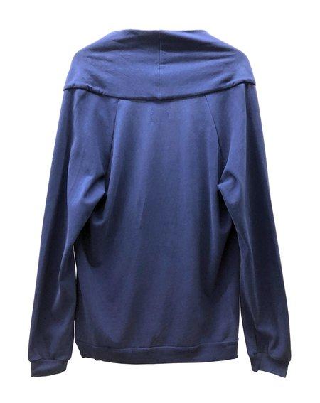 A.D.DEERTZ Open Longsleeve Sweater - Dark Navy