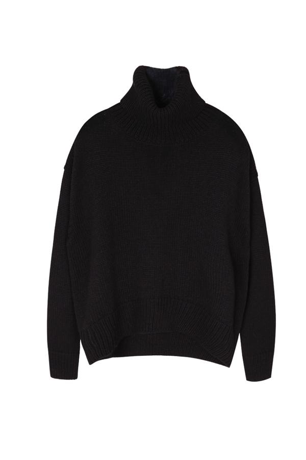 ANDERSSON BELL Karin Turtleneck Sweater- Black