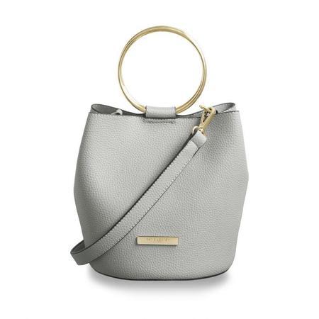 Katie Loxton Suki Bucket Bag - Pale Gray