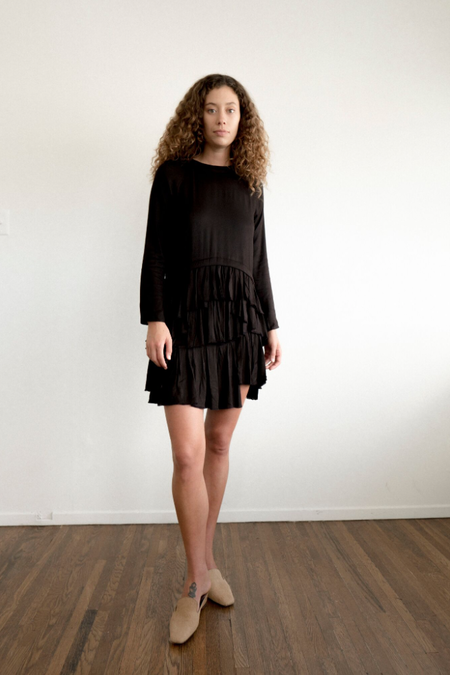 Maria Stanley Sadie Mae Dress - Noir