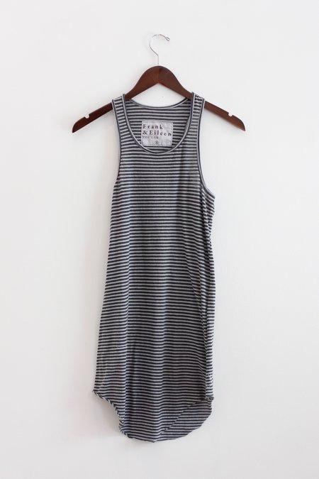 Tee Lab Long Layer Tank - Dime Stripe
