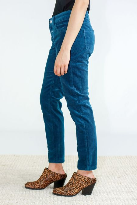 Closed Baker Corduroy Pants - Kingsfisher Blue