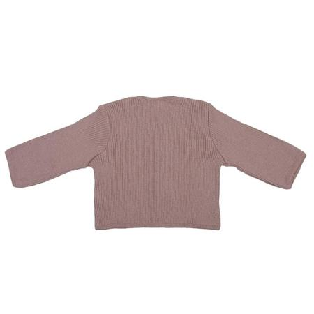 KIDS Pequeno Tocon Baby Ribbed Knit Cardigan Sweater - Pink