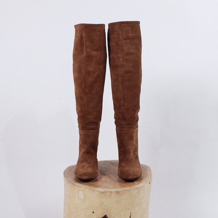 AGL Fergus Tall Boot - Cognac