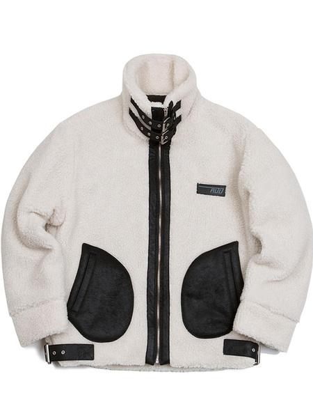 ADD Heavy Fleece Jacket - Ivory